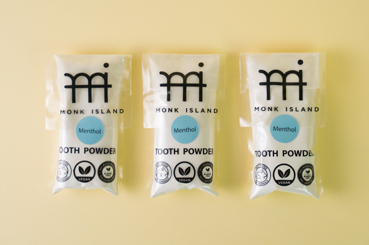 Monk Island Tooth powder